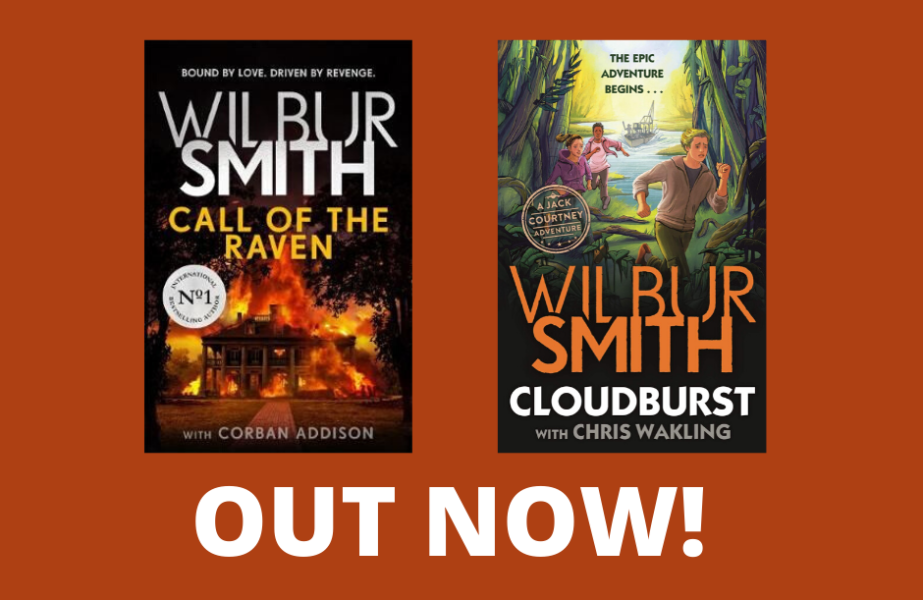 Two Brand New Wilbur Smith Titles, Out Now!