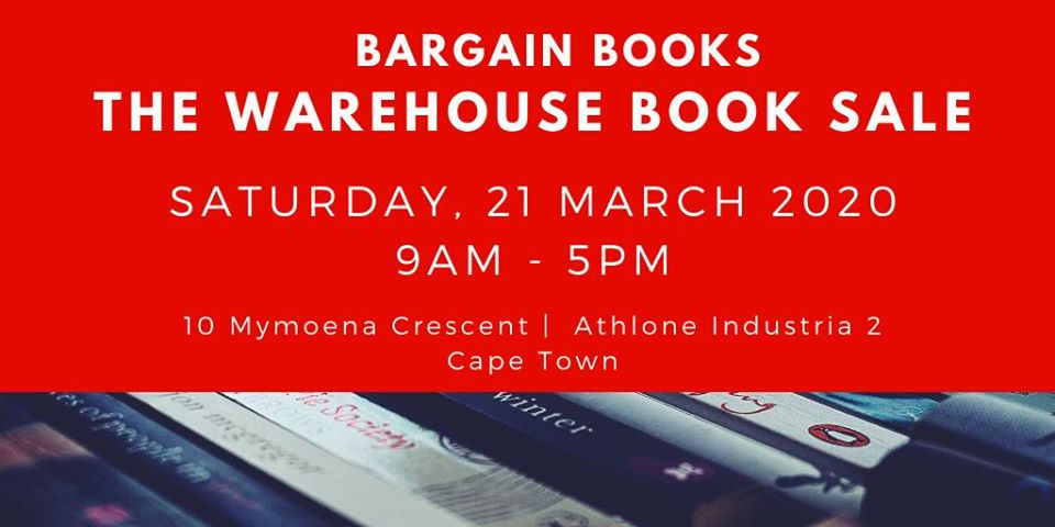 Are you ready for the Bargain Books Warehouse Sale?
