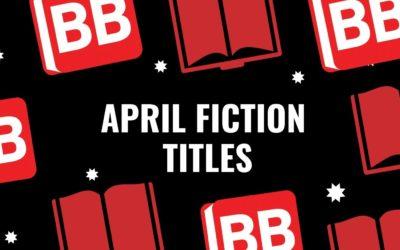 April Fiction titles