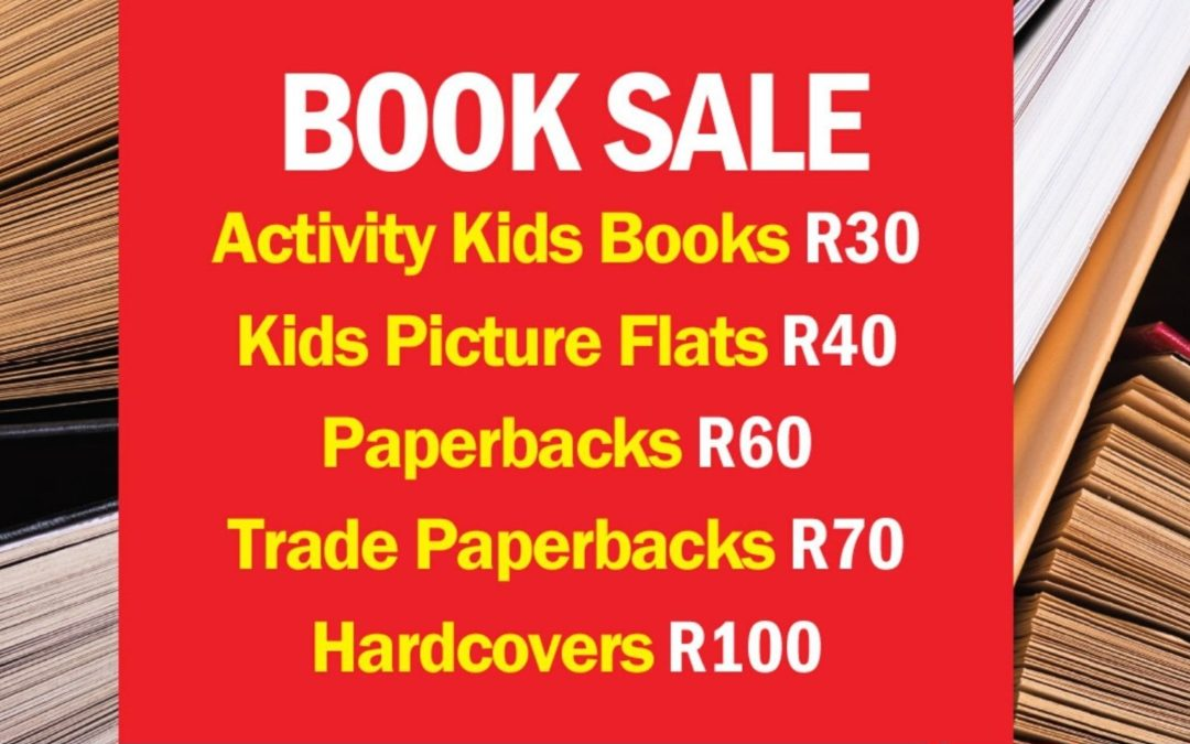 Book sale now on!