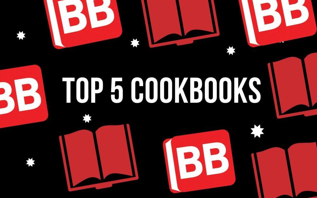 Top 5 cookbooks