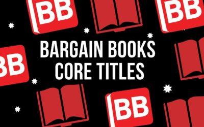 Core titles at Bargain Books
