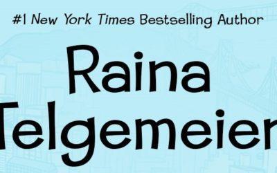 Raina Telgemeier Has Won the Eisner Prize Five Times!