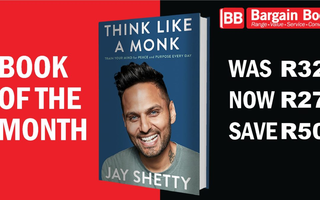 September Book of the Month: Think Like a Monk by Jay Shetty