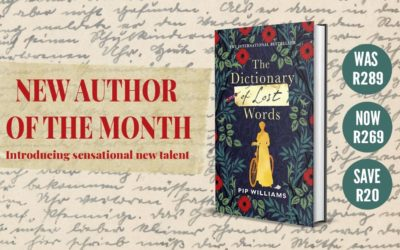 Our Very First New Author of the Month!