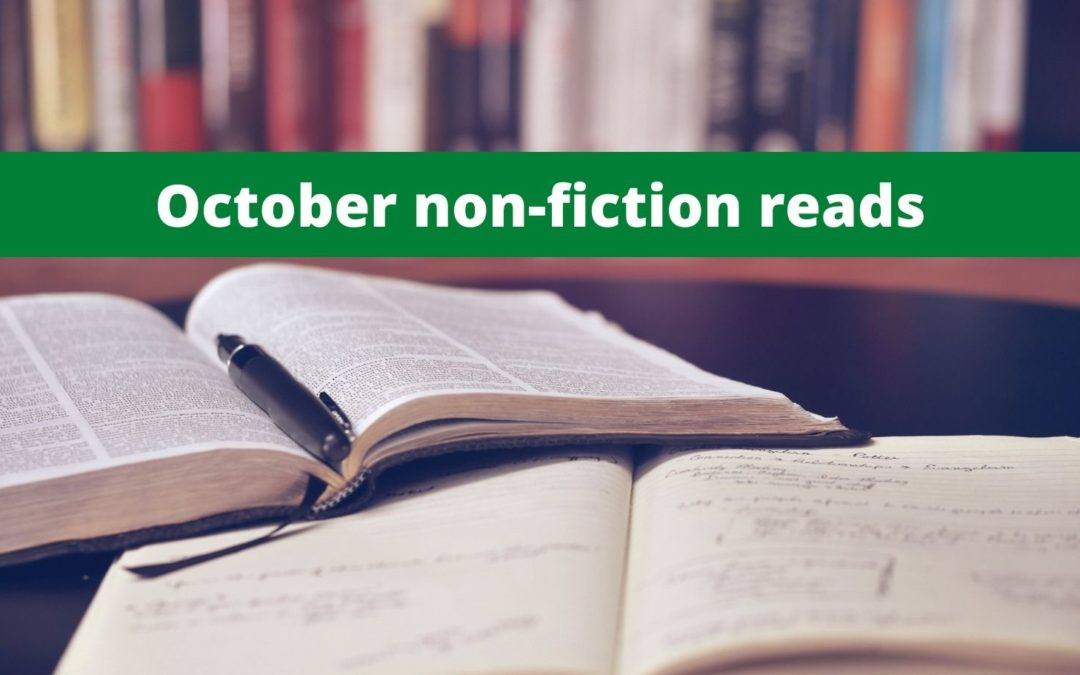 October Local Non-Fiction Recommendations